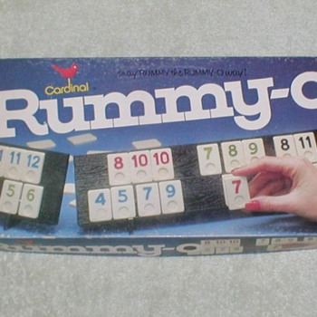 1977 Rummy-O Game - Games