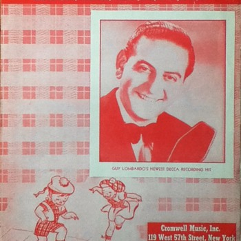 &quot;Hop Scotch Polka&quot; Sheet Music - Paper