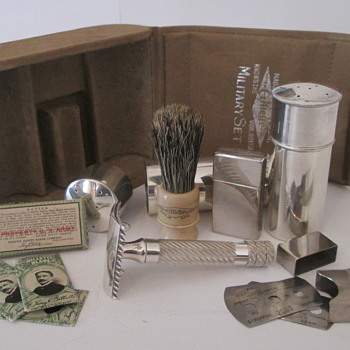Gillette 1918 Military Set - Accessories
