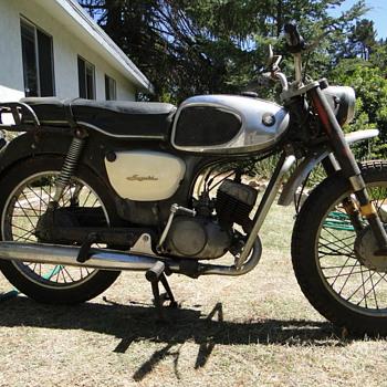 1966 Suzuki K10 80cc motorcycle