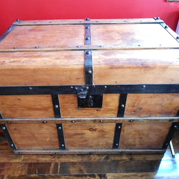 Antique Campaign Trunk