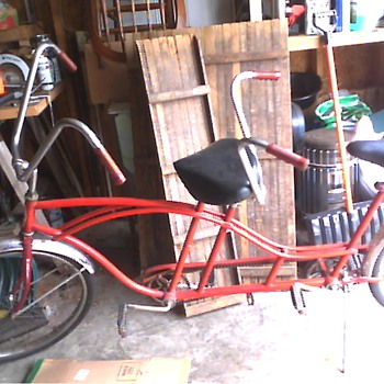 Huffy two seated bicycle 