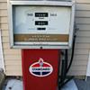 """Recon """"AMERICAN OIL CO."""" gas pump"""