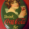 1914 Coca-Cola Pocket Mirror