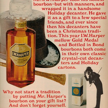 1969 - I.W. Harper Bourbon Advertisement - Advertising
