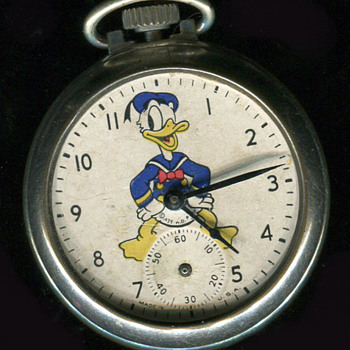 ATT Ollie, The Donald Duck Pocket watch - Pocket Watches