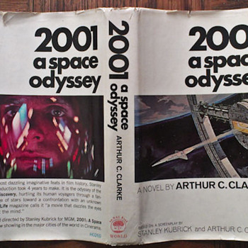 2001 a space odyssey book - Books