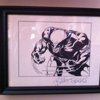 Wolverine original art piece