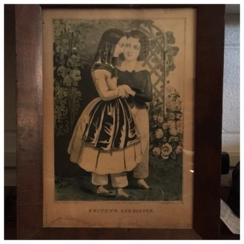 Antique KELLOGG & THAYER lithograph  unfound in their Collection
