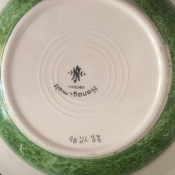 German Bowl with mark - Pottery