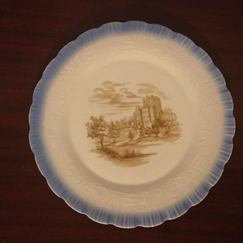 My Milk Glass Plate...Do You Know Anything About It? - Glassware