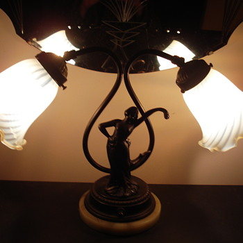 Double lamp .. DECO?..or what??? - Lamps