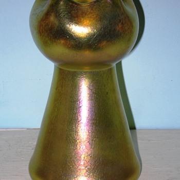 Loetz Silberiris Vase. - Art Glass