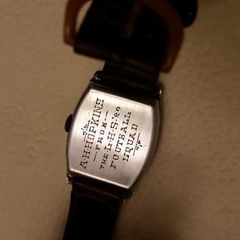 1929 ,1950s bulova watch