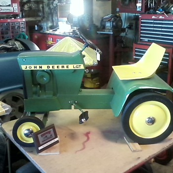 pedal tractors