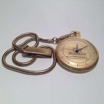 Monorail Hotel Pocket Watch