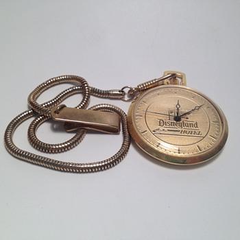 Monorail Hotel Pocket Watch