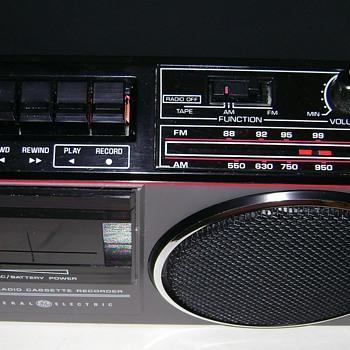General Electric AM/FM Radio Cassette  - Radios