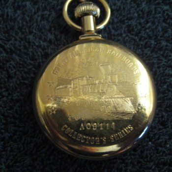 Bradley Railroad Pocket watch - Pocket Watches