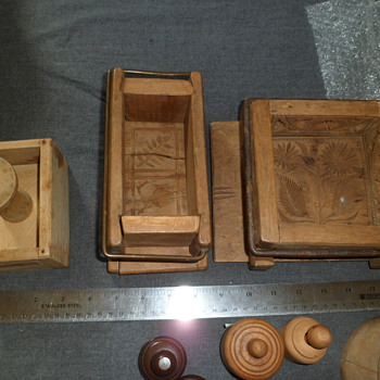 EE Neely Collection Butter Molds - Kitchen