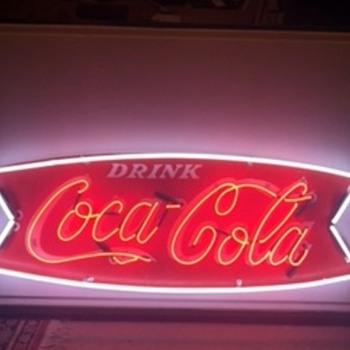 Coca Cola Neon Sign