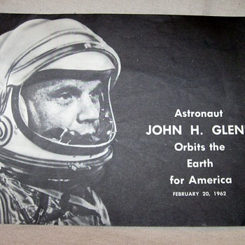 Astronaut John H. Glenn Orbits the Earth for America
