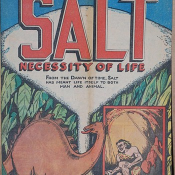 &quot;The Story Of Salt Comic&quot; - Comic Books