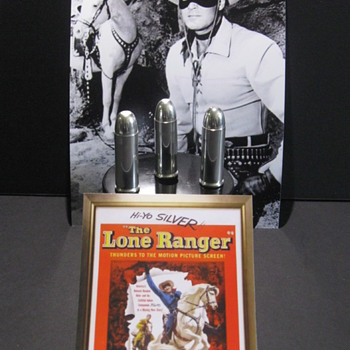 "'Lone Ranger' Silver Bullets . . . ""A Piece of TV History"""