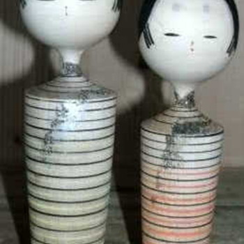 Another pair from the found box - Dolls