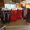 Picture of some projects in the Pop Machine Shop