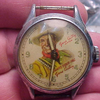 1948 Gene Autry Wristwatch - Wristwatches