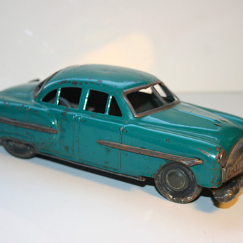 Nomura 1951 packard 4 door sedan japan tin toy car