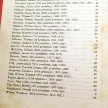 PRESIDENTS  1933