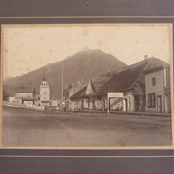 Early photograph of Sitka Alaska  - Photographs