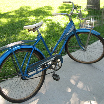 My first and only bicycle.