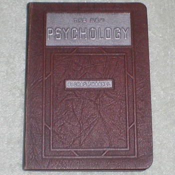 1925 The New Psychology