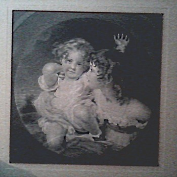 Engraving Of A Painting By Sir Thomas Lawrence 1823/ The Calmady Children/ Engraved By Oliver Pelton Circa 1857 - Posters and Prints