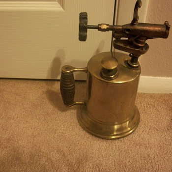 Antique Brass Blow Tourch