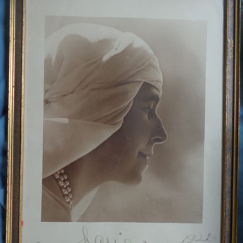 Two signed Queen Marie of Romania, Guggenberger-Mairovits