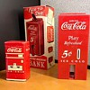 1950's Coca Cola Bank and 1931 Sandwich Plate