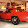 1966 Corvette 427 / 425 hp coupe , red/red. 4 speed