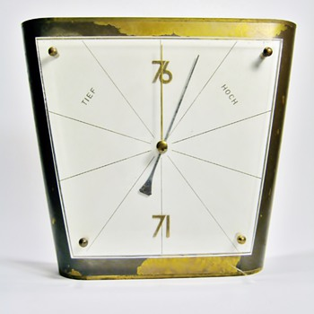 ORIGINAL GERMAN BAUHAUS BAROMETER