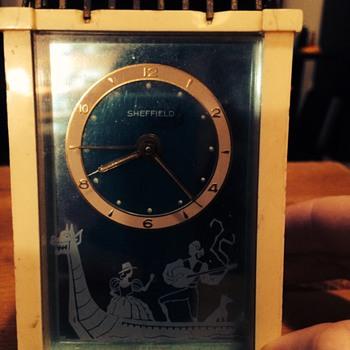 Sheffield Clock with Gondola
