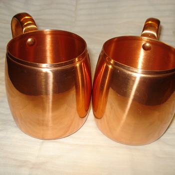 WEST BEND REAL COPPER CUPS