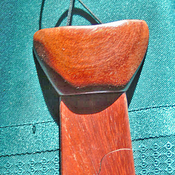 Wooden Tie from 1979