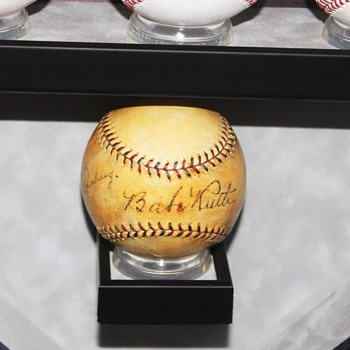 My Autograpghed Baseball Collection - Baseball