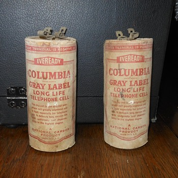 Columbia Gray Line Telephone Cell Battery - Telephones