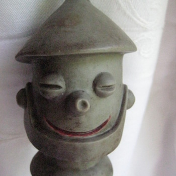 TIN MAN BOTTLE TOPPER OR OIL SPOUT TOPPER? - Figurines
