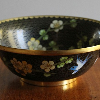 Cloisonne Bowl - Jingfa - Asian