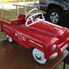 speed o matic hook & ladder peddle car